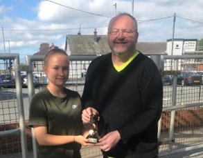 Young Player of the Year Catrin Evans joins a new club