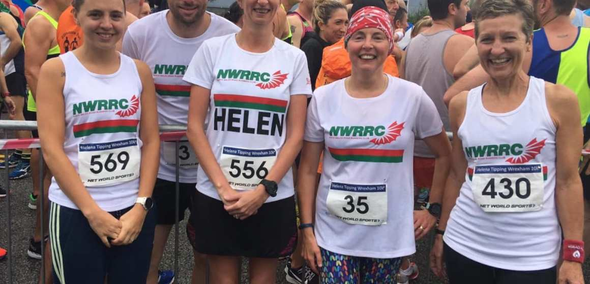 Hat-trick of Welsh medals at Wrexham 10k for North Wales Road Runners Club