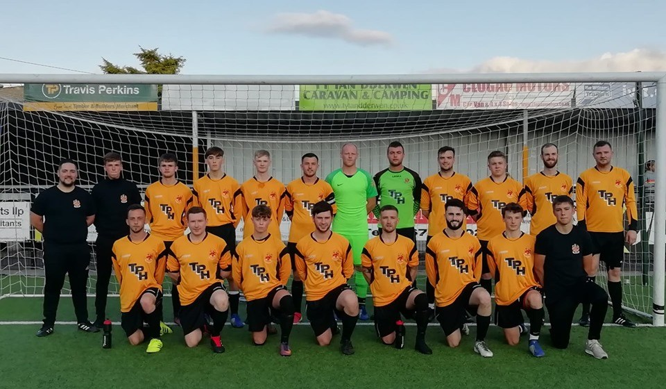 North East Wales League: 43 goals in 5 games on opening day!