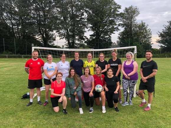 Llanfairfechan Town Ladies set for football debut!