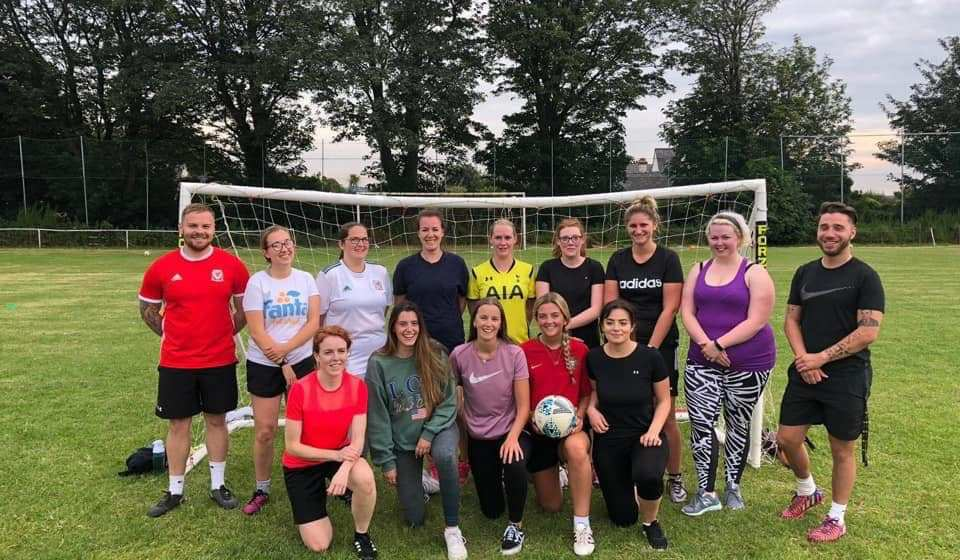 Llanfairfechan Town Ladies set for football debut!