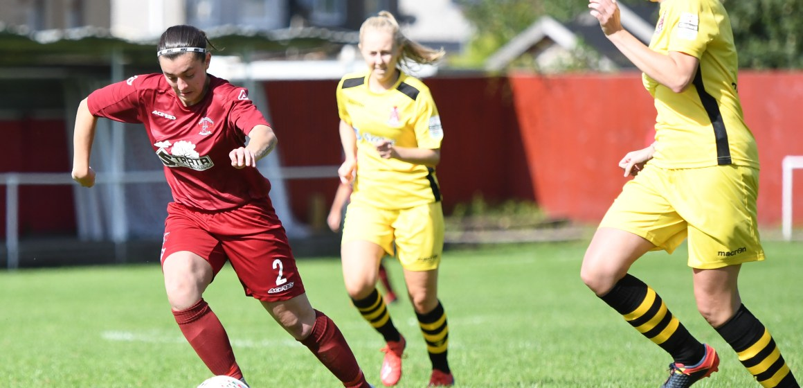 Llandudno Ladies win away on the opening day in Welsh Premier