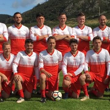 Gwynedd League: Nefyn emphatic winners over Bridge side which finish with 8 men