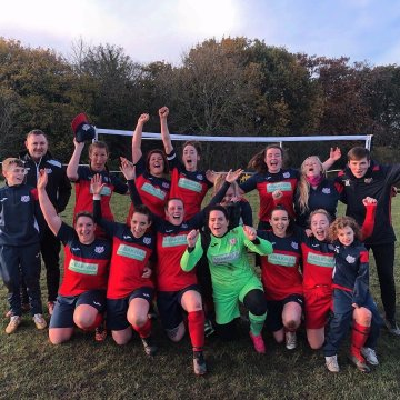 Women's football: Holywell score seven in Recreational League