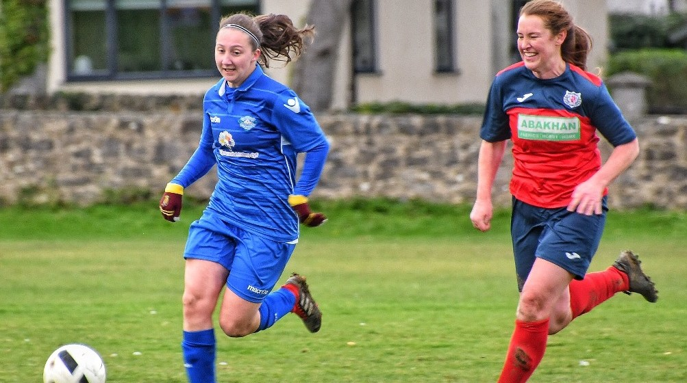 Take a 'Lwch' at us now – Amlwch Town Ladies are flying at present