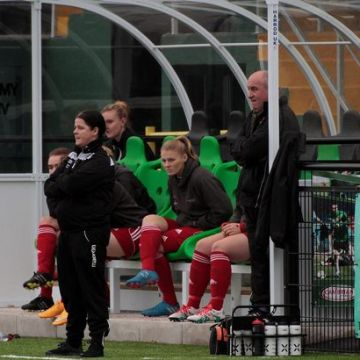 "Llandudno Ladies manager Sarah Colville: ""Carrying on was becoming impossible"""