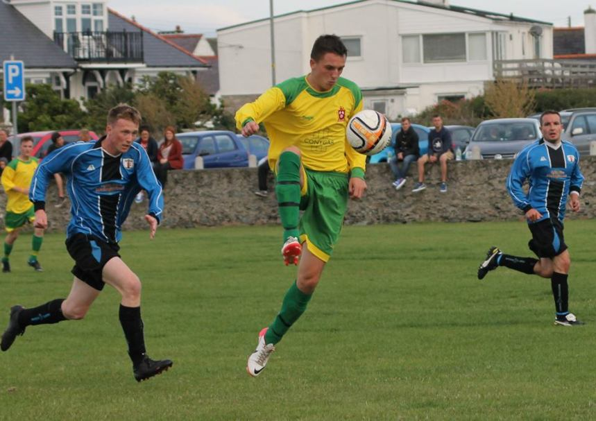 Asa grabs a treble in second comeback game for Holyhead Hotspur