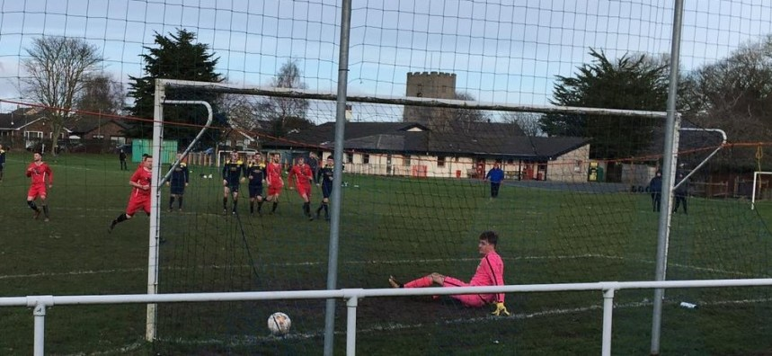North East Wales League: Caerwys trip up in cup, nine for Chirk Town, Borras prevail