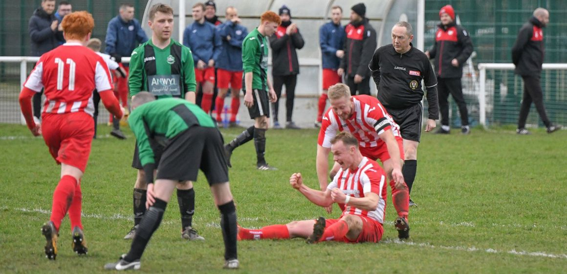 Welsh National League: Holywell make it 12 unbeaten, cup joy for Albion and Mold