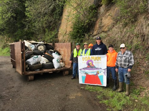 Big Turnout, 4 Tons Of Trash Collected In Annual Yaquina River Cleanup