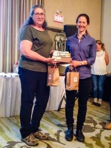 Shawne Kokelj accepts award