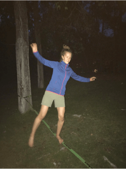 2017 Haig Glacier Camp - slacklining