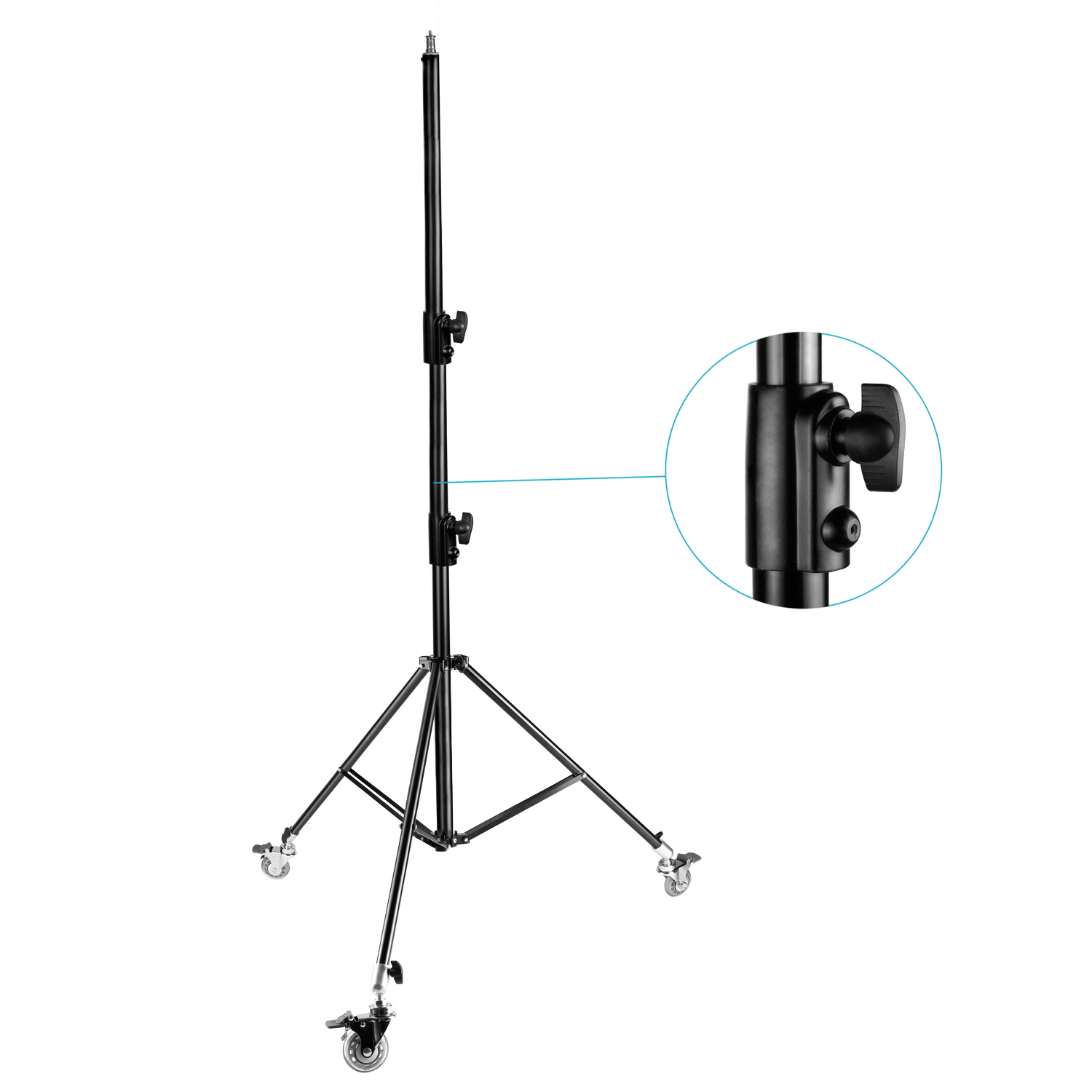 Neewer Pro Version Adjustable 102 260cm Ight Stand Tripod