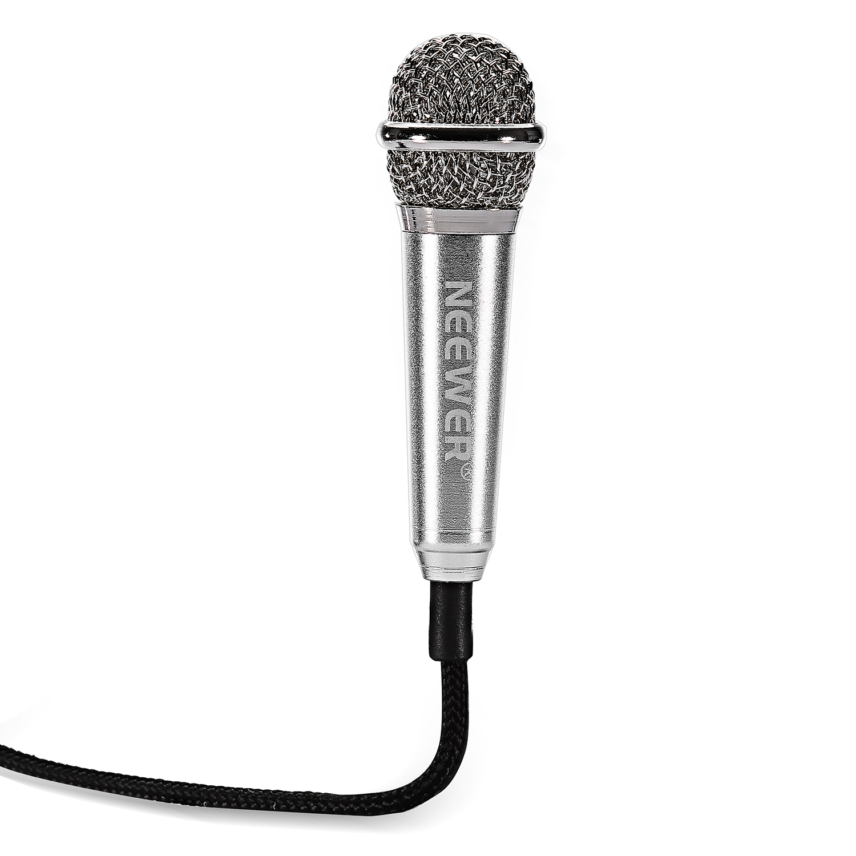 Neewer Mini Condenser Microphone Silver