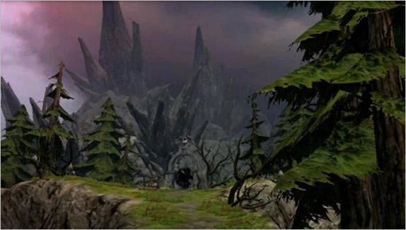 BLACK MOUNTAIN PATH