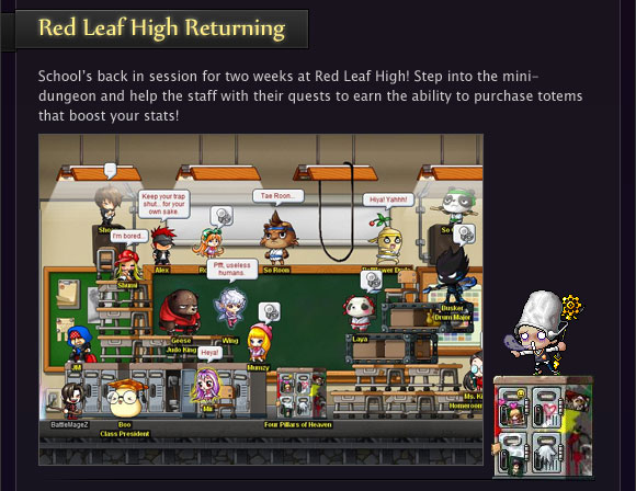 Red Leaf High Returning