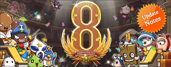 GMS v.134 - Super 8th Anniversary! (1/6)