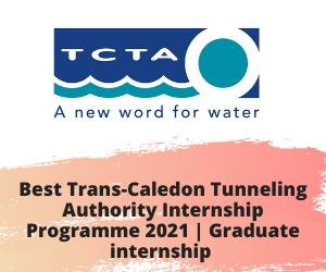 Best Trans-Caledon Tunneling Authority Internship Programme 2021 | Graduate internship