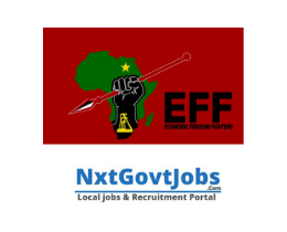 Eff vacancies 2021 | Eff careers | Vacancies in Johannesburg