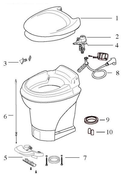 thetford 31705 aquamagic v water module kit