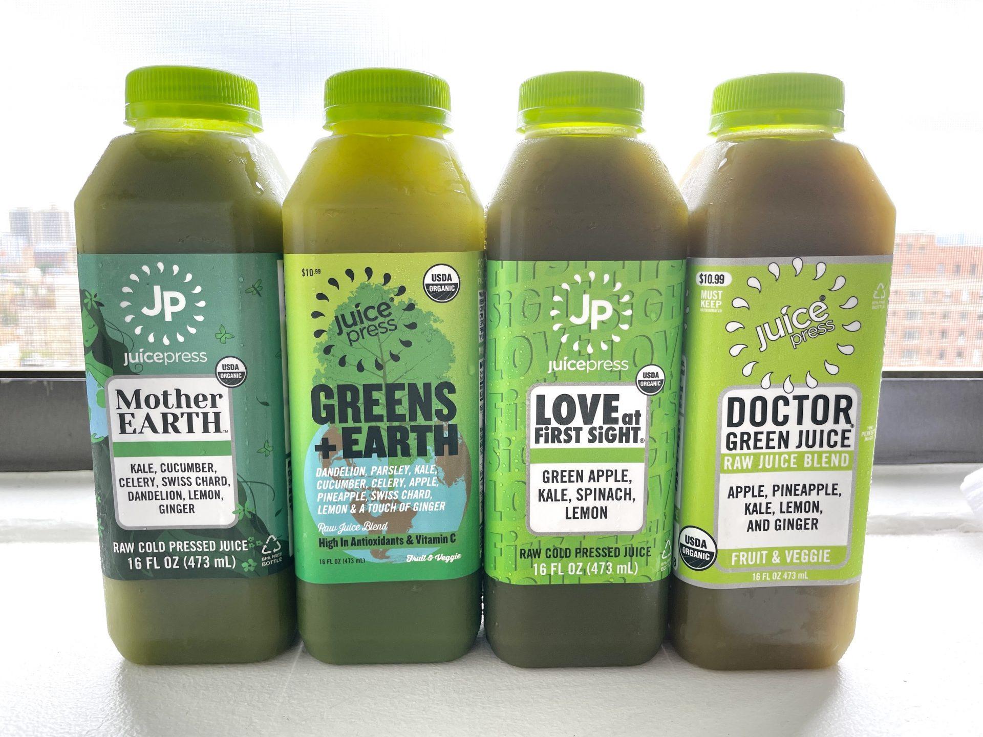 【Juice Press】美味しいグリーン系ジュースはコレ!本場のコールドプレスジュースを飲み比べ(ジュースプレス)