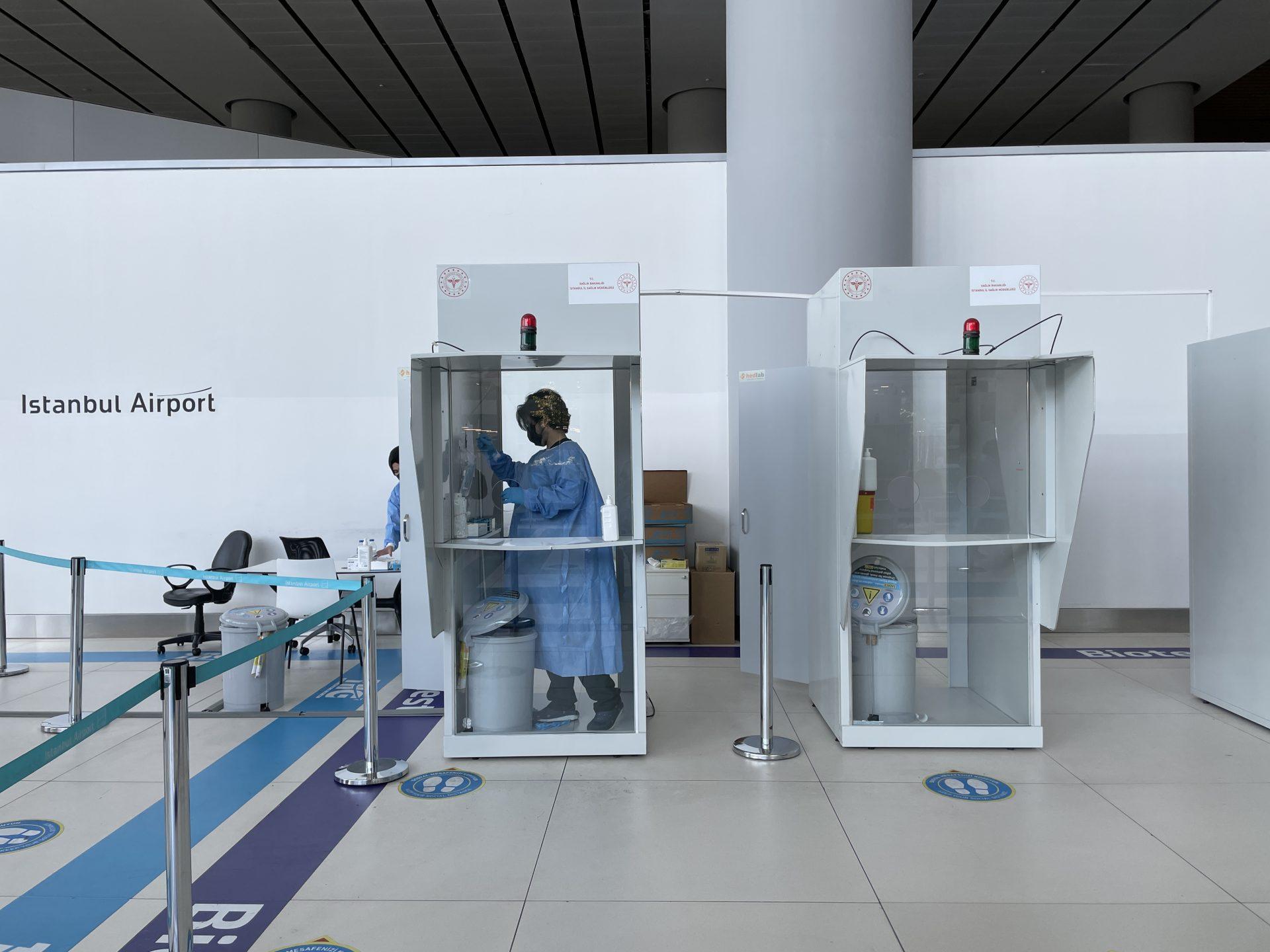 【イスタンブール空港】フライト当日 PCR検査の場所や金額など詳細 & トルコ出国→アメリカ入国実録