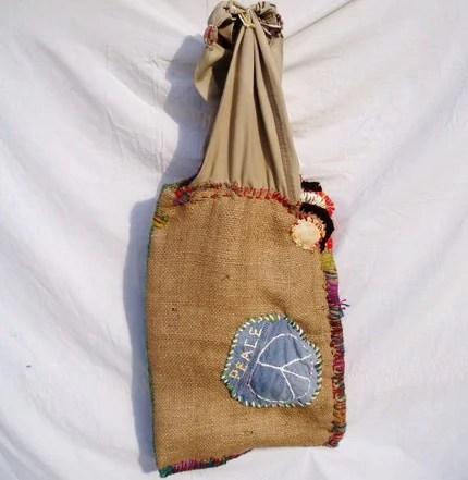 Hong Kong Willie Peace Bag - Hippie Bag -  FREE SHIPPING