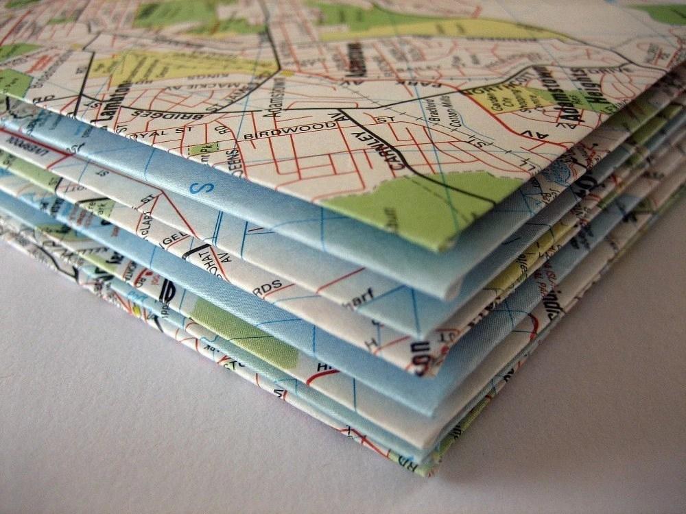 Destination, Anywhere but Here. Envelopes - Set of 10