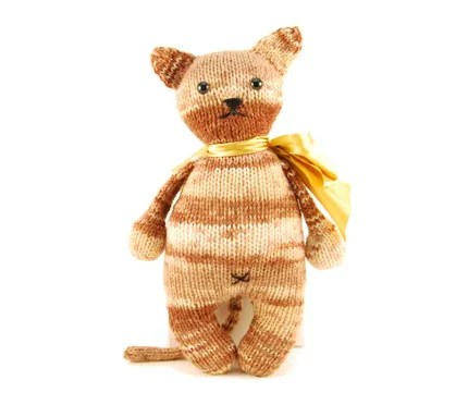 Greta the Captivating Cat Knitting Pattern Pdf