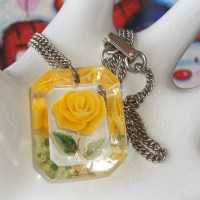 Feature: Reverse Carved Lucite Jewelry
