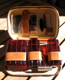 Vintage 1950s Mens Grooming Travel Kit