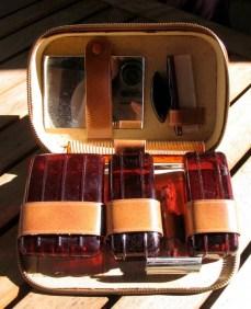 Vintage 1950s Mens Grooming Travel Kit