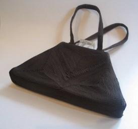Vintage 1940s Corde Silk Handbag Lucite Clasp