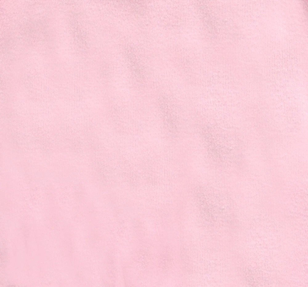 Organic Cotton Knit Fabric by the Yard in Rose