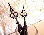 Gothic Victorian Styled Hair Sticks- 2 - Braving the Elements, Petite