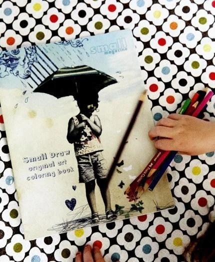 small magazine coloring book