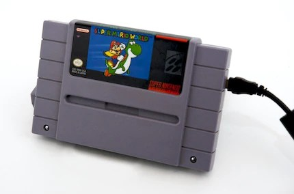 Super NES External Hard Drive - Super Mario World - 500GB