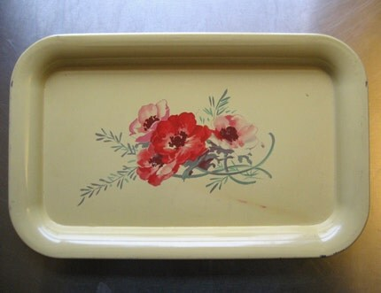 YELLOW POPPY PLATTER