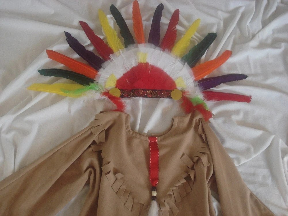 Native American Indian Boy's  children's costume