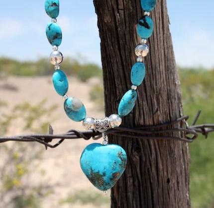 Turquoise Blue Love - Nacozari Turquoise Necklace