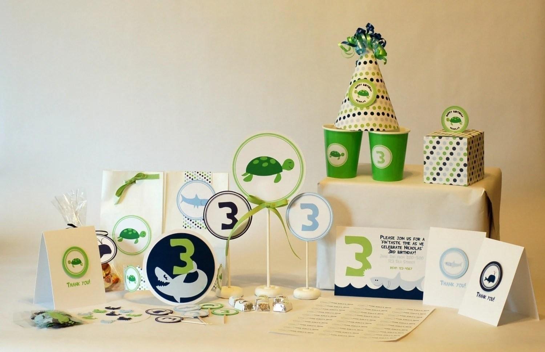 Printable Ocean Party