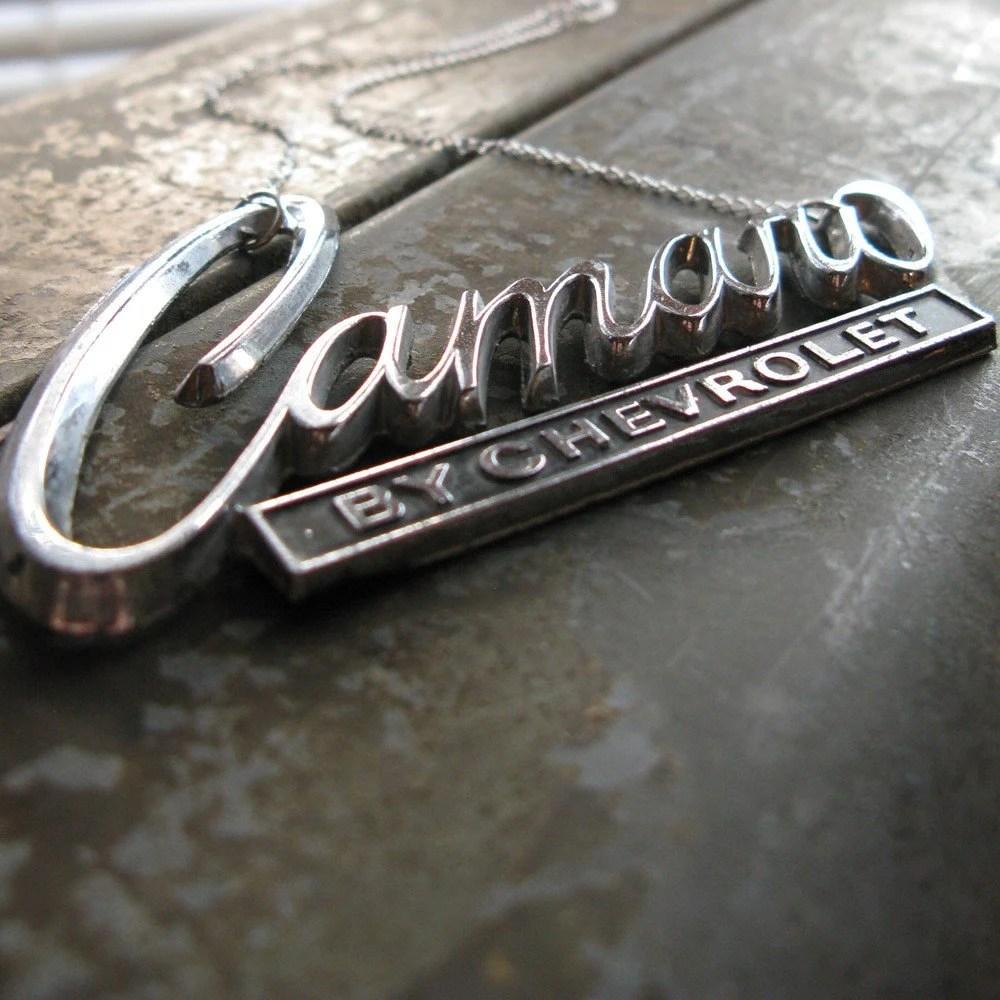 Camaro necklace