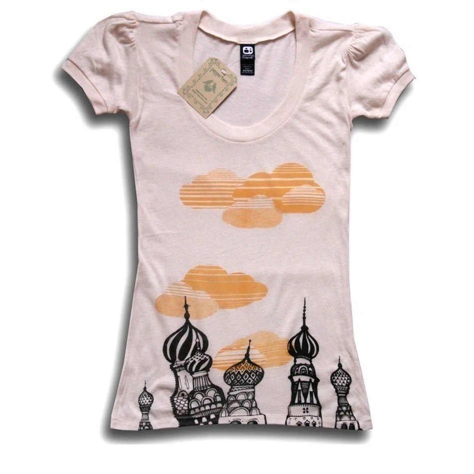 Russian Cathedral Tee