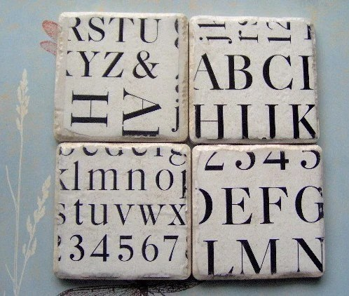 Fabulous Font Coasters