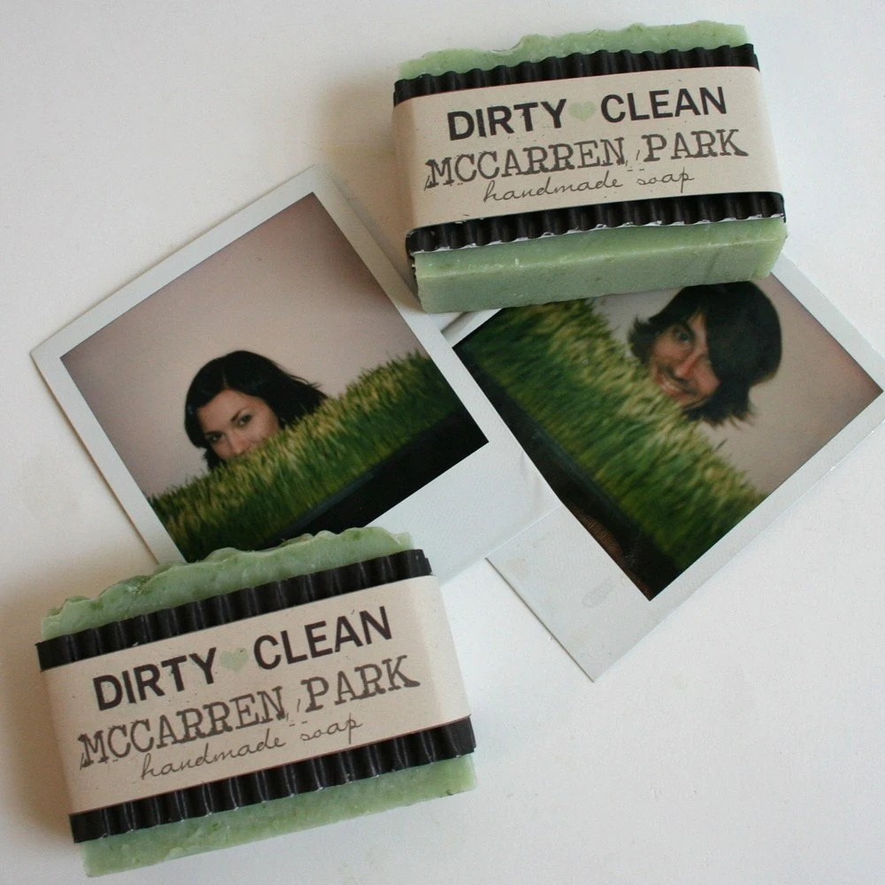 McCarren Park Grass Soap $5.50