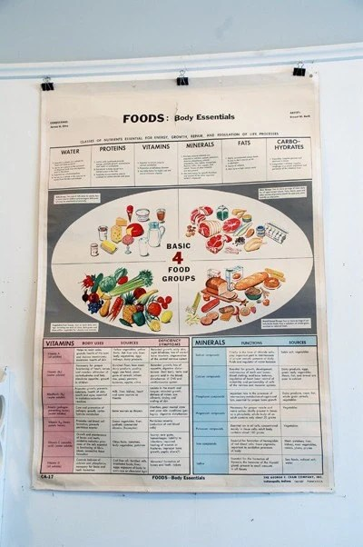 Nutritional Educational Poster - Double Sided