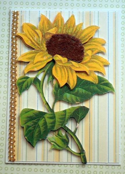 Cheerful Sunflower Greeting Card