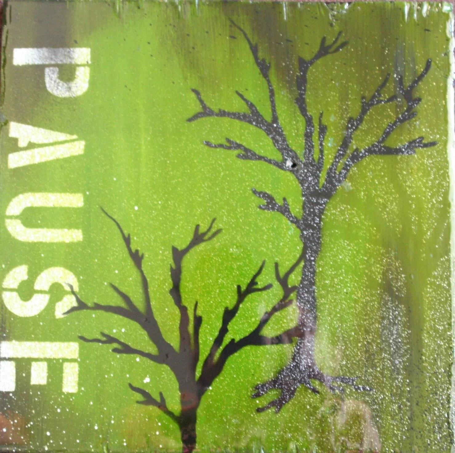 Pause I (12x12) $60