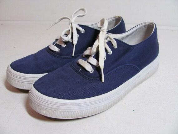 Vintage Dark Blue Keds