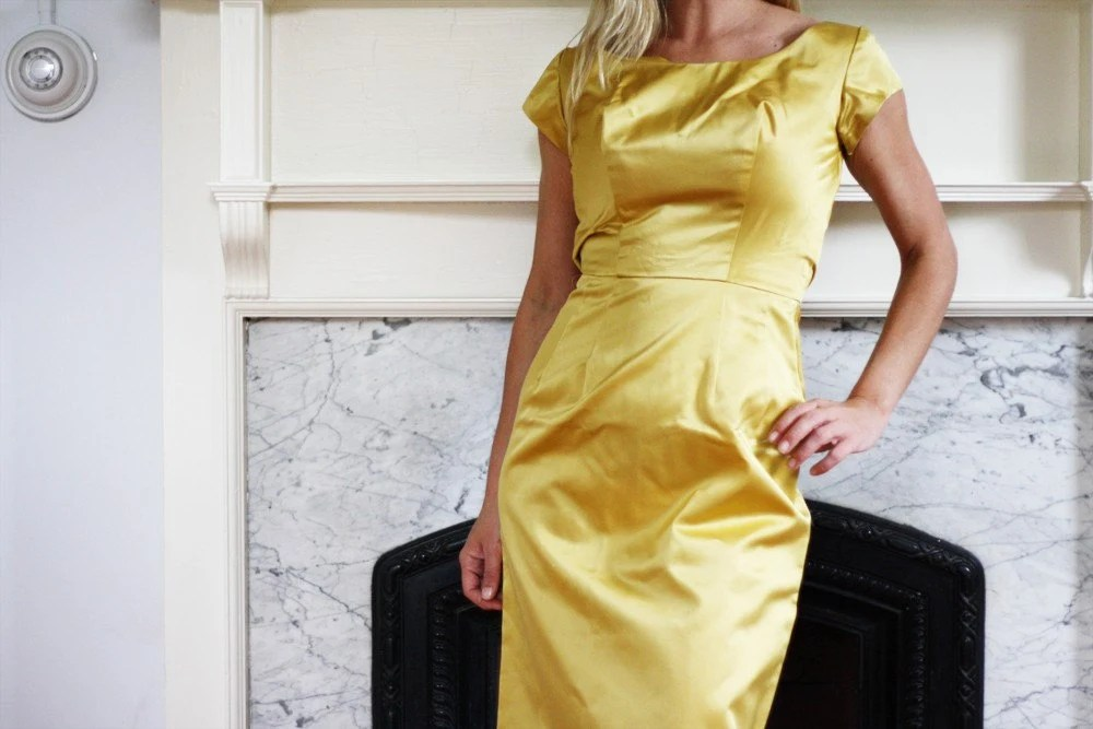 Vintage Rich Gold Dress